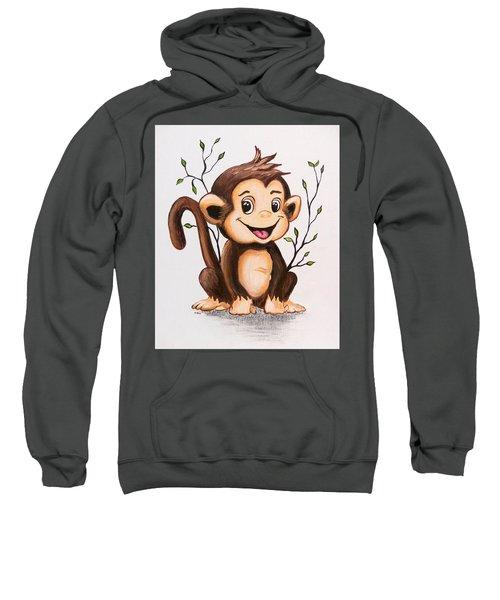 Manny The Monkey Sweatshirt