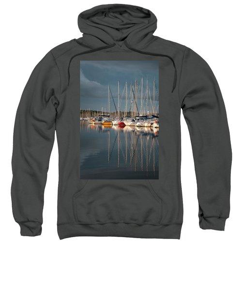 Marina Sunset 8 Sweatshirt