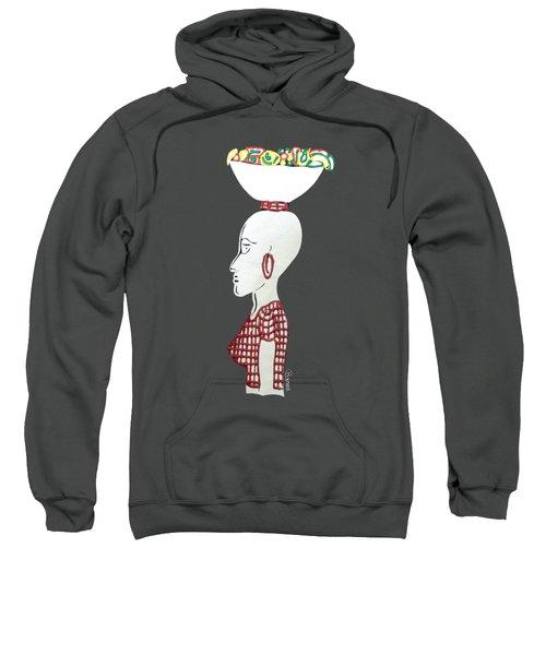 Market Woman1 Sweatshirt by Gerri McCritty