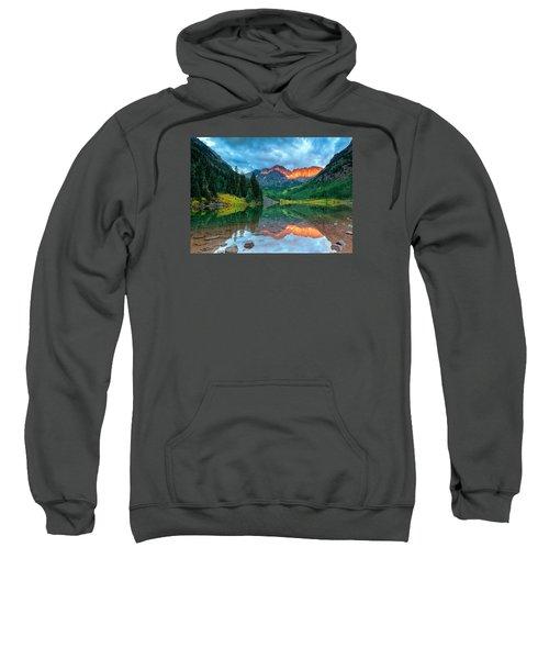Maroon Bells Sunrise Sweatshirt