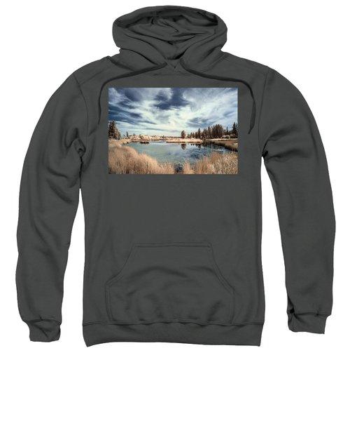 Marshlands In Washington Sweatshirt