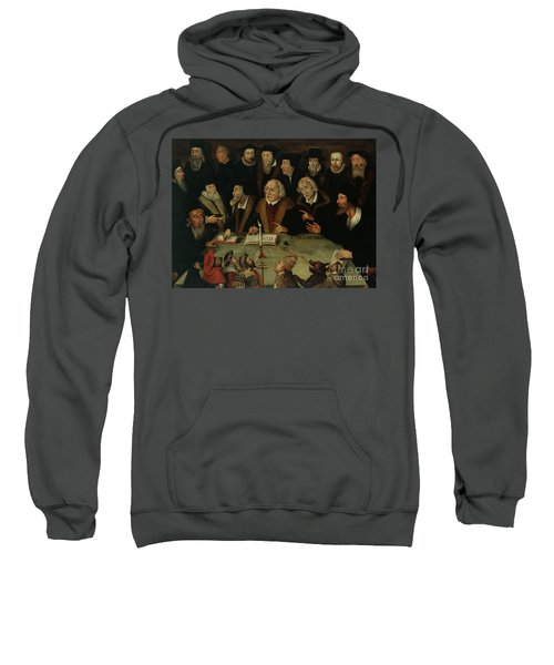 Martin Luther In The Circle Of Reformers Sweatshirt