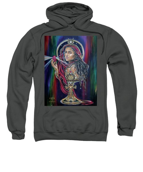 Mary Magdalen - The Holy Grail Sweatshirt