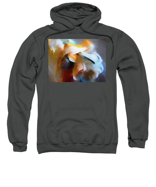 Masking Tape And Paint Composition Sweatshirt