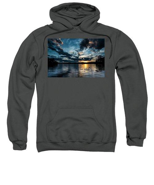 Masscupic Lake Sunset Sweatshirt