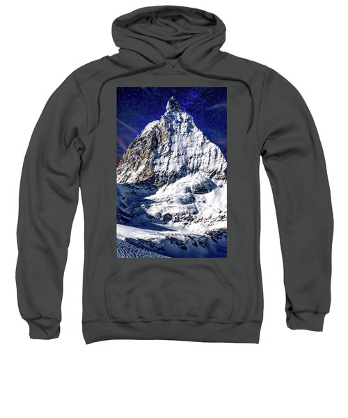 Matterhorn At Twilight Sweatshirt
