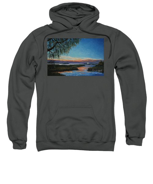 May River Sunset Sweatshirt