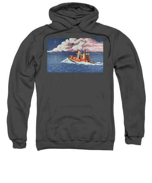 Mayday- I Require A Tug Sweatshirt