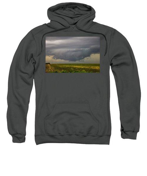Mcluvn Nebraska Thunderstorms 018 Sweatshirt