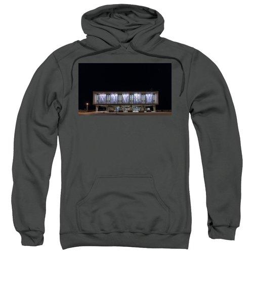 Sweatshirt featuring the photograph Mcmxliviii by Randy Scherkenbach