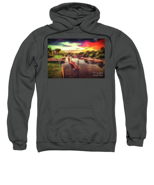 Meanwhile Back On The River Sweatshirt