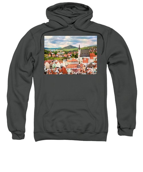 Medieval Village  Sweatshirt