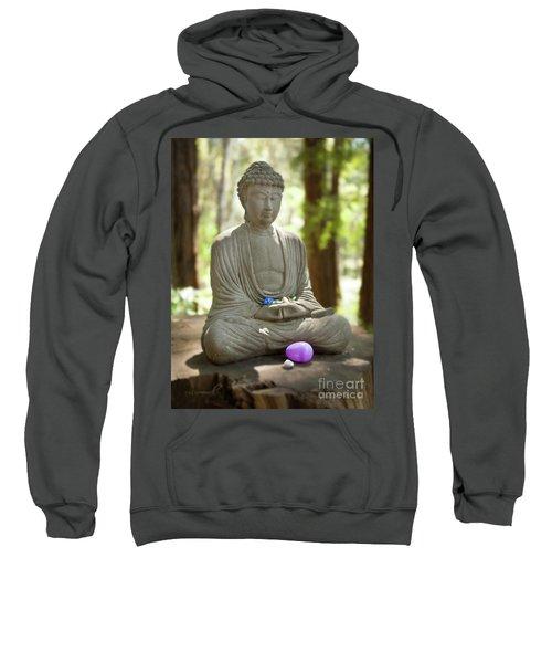 Meditation Buddha With Offerings Sweatshirt