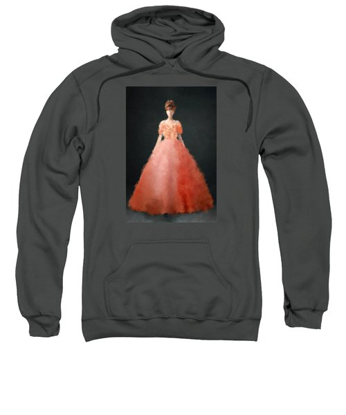 Sweatshirt featuring the digital art Melody by Nancy Levan