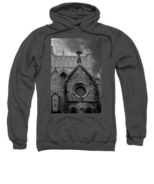 Memphis Cross In The Clouds Bw Sweatshirt