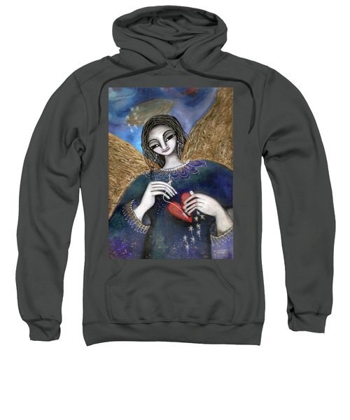 Mender Of Hearts Angel Sweatshirt