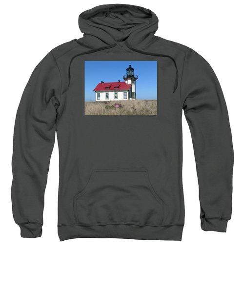 Mendocino Lighthouse Sweatshirt by Sandy Taylor