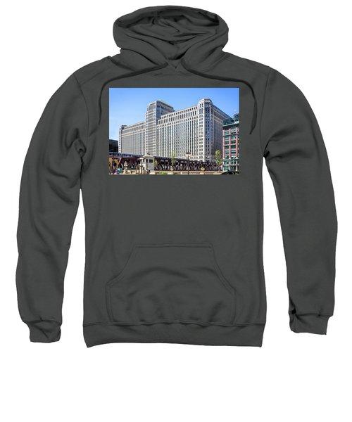 Merchandise Mart Overlooking The L Sweatshirt