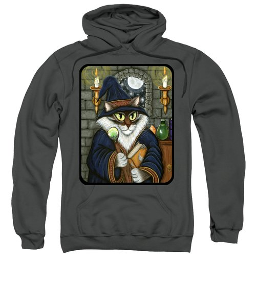 Merlin The Magician Cat Sweatshirt
