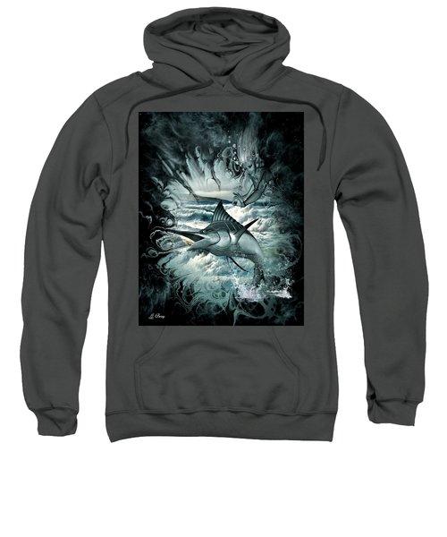 Mermaid And The Marlin Sweatshirt