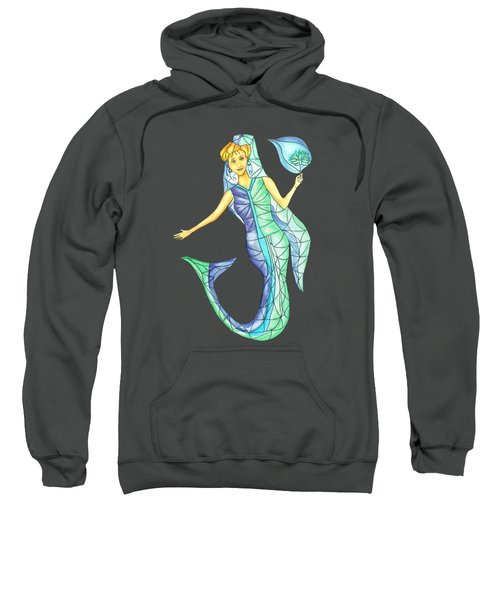 Mermaid Stories B Sweatshirt by Thecla Correya