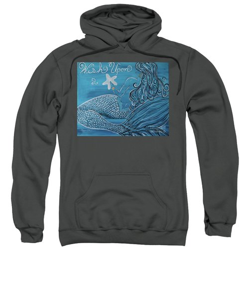 Mermaid- Wish Upon A Starfish Sweatshirt