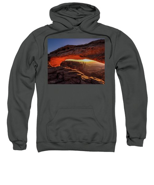 Mesa Arch At Sunrise 1, Canyonlands National Park, Utah Sweatshirt