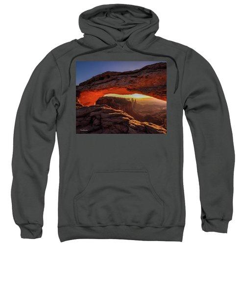 Mesa Arch At Sunrise 1, Canyonlands National Park, Utah Sweatshirt