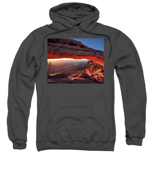 Mesa Arch At Sunrise 2, Canyonlands National Park, Utah Sweatshirt