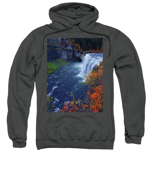 Mesa Falls In The Fall Sweatshirt