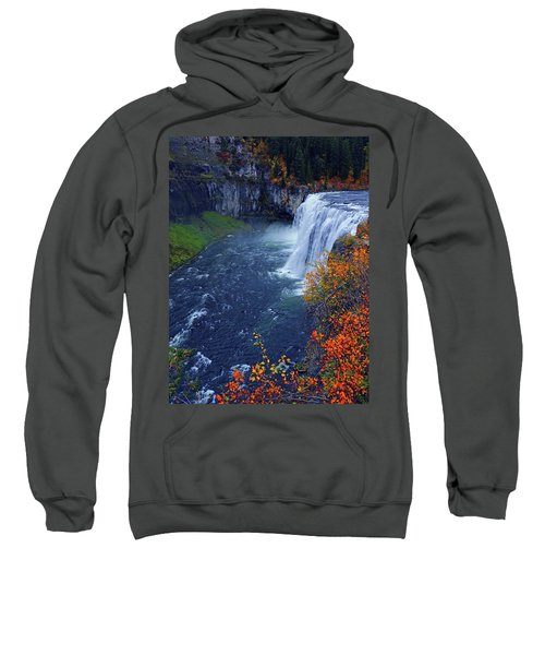 Mesa Falls In The Fall Sweatshirt