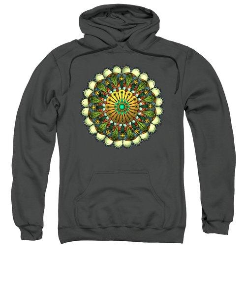 Metallic Mandala Sweatshirt