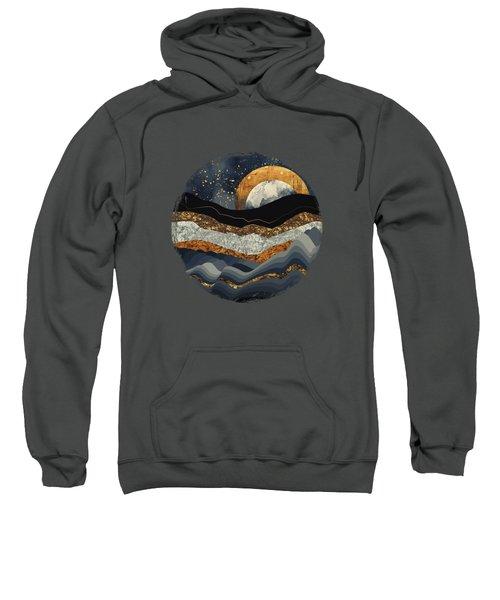 Metallic Mountains Sweatshirt by Katherine Smit