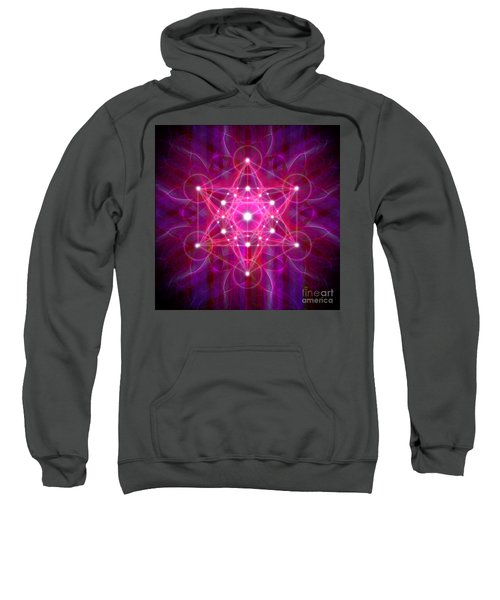 Metatron's Cube Reflection Sweatshirt