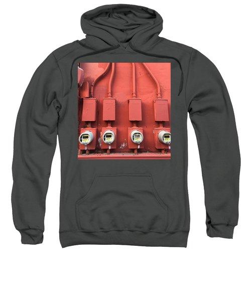 Meter Reader Red 2 Sweatshirt