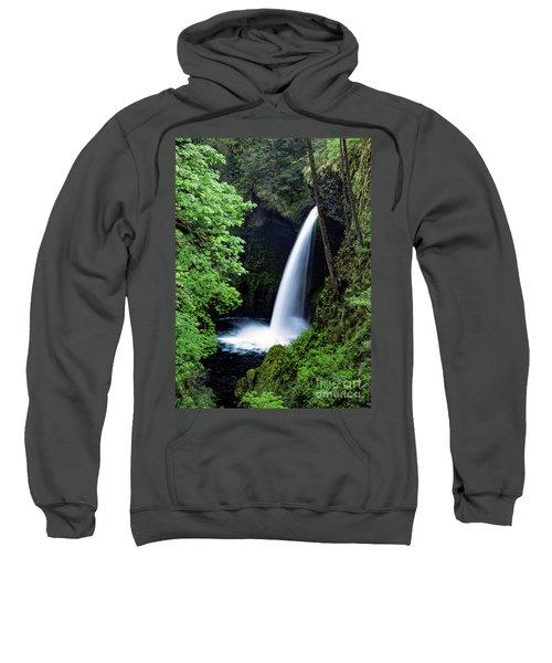 Metlako Falls Waterfall Art By Kaylyn Franks Sweatshirt