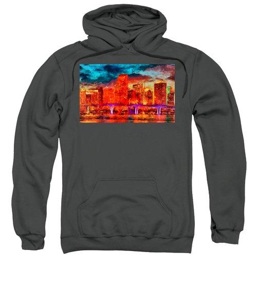 Miami Skyline Sweatshirt