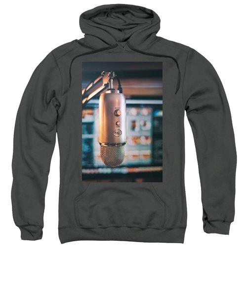 Mic Check 1 2 3 Sweatshirt