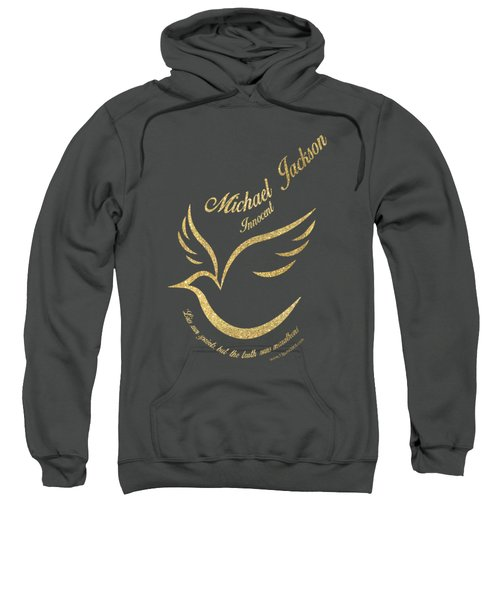Michael Jackson Golden Dove Sweatshirt by D Francis