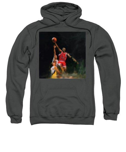Michael Jordan 548 1 Sweatshirt by Mawra Tahreem