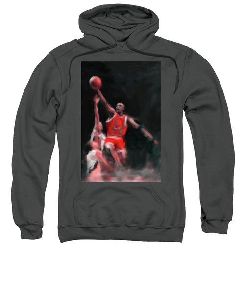 Michael Jordan 548 3 Sweatshirt by Mawra Tahreem