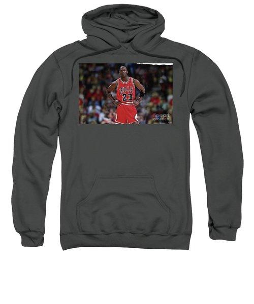 Michael Jordan, Number 23, Chicago Bulls Sweatshirt