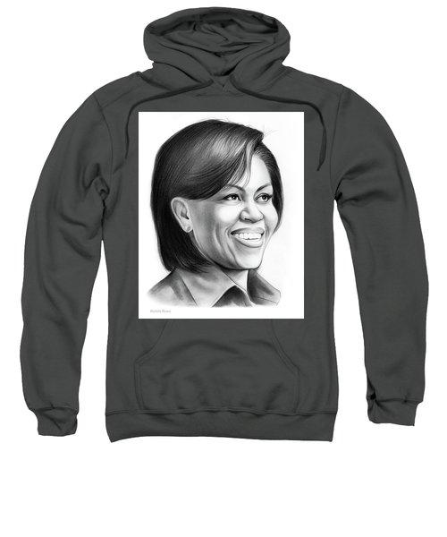 Michelle Obama Sweatshirt by Greg Joens