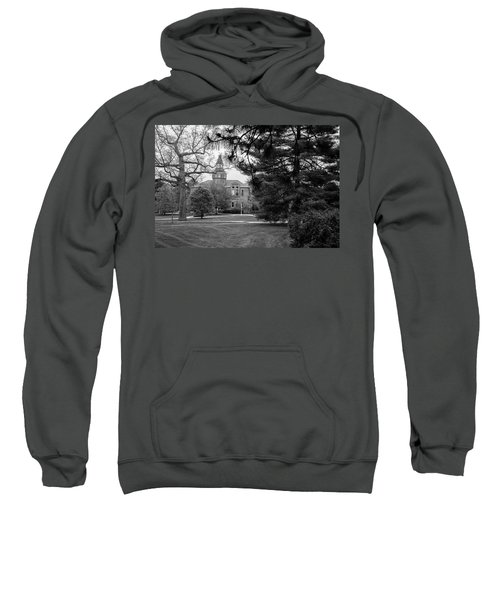 Michigan State University Campus Black And White  Sweatshirt