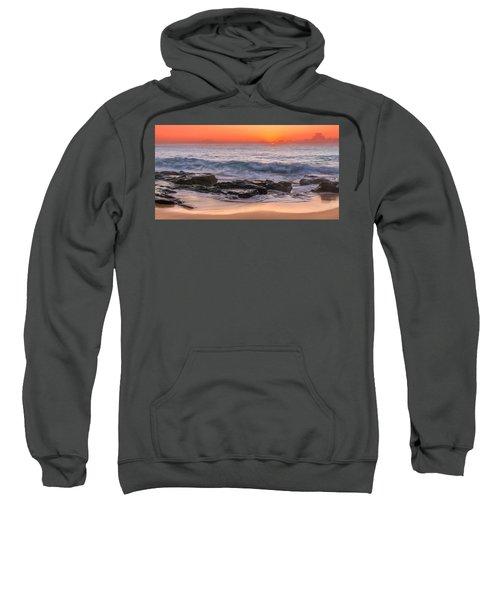 Middle Beach Sunrise Sweatshirt