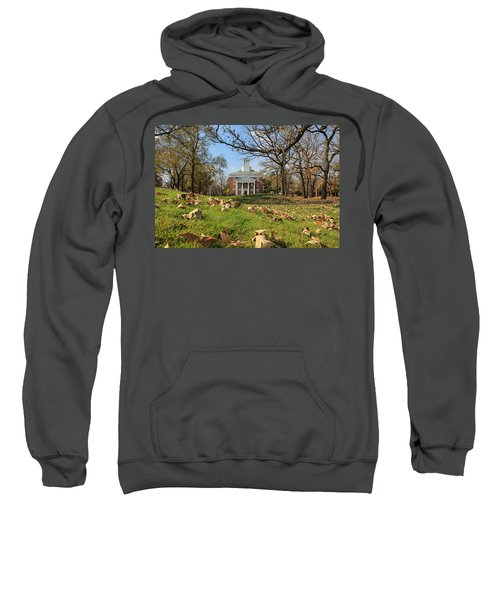 Middle College On An Autumn Day Sweatshirt