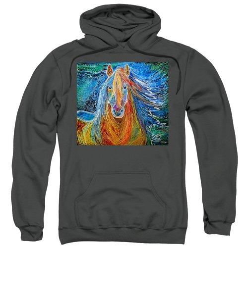 Midnightsun Equine Batik Sweatshirt