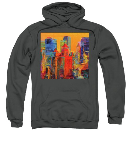 Midtown Manhattan From The Waldorf Sweatshirt