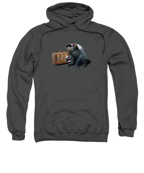 Might Wordless Sweatshirt
