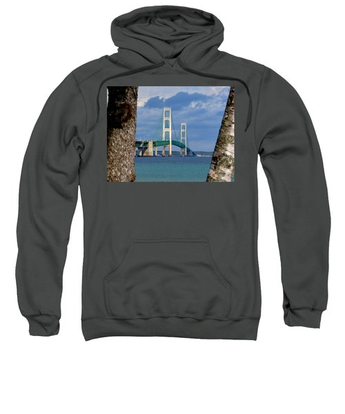Mighty Mac Framed By Trees Sweatshirt